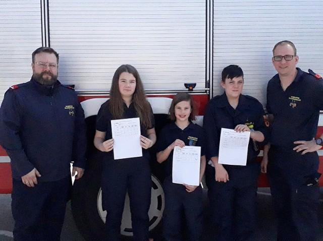 Feuerwehrjugend - Wissenstest