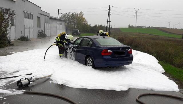 Fahrzeugbrand am 27.10.2017
